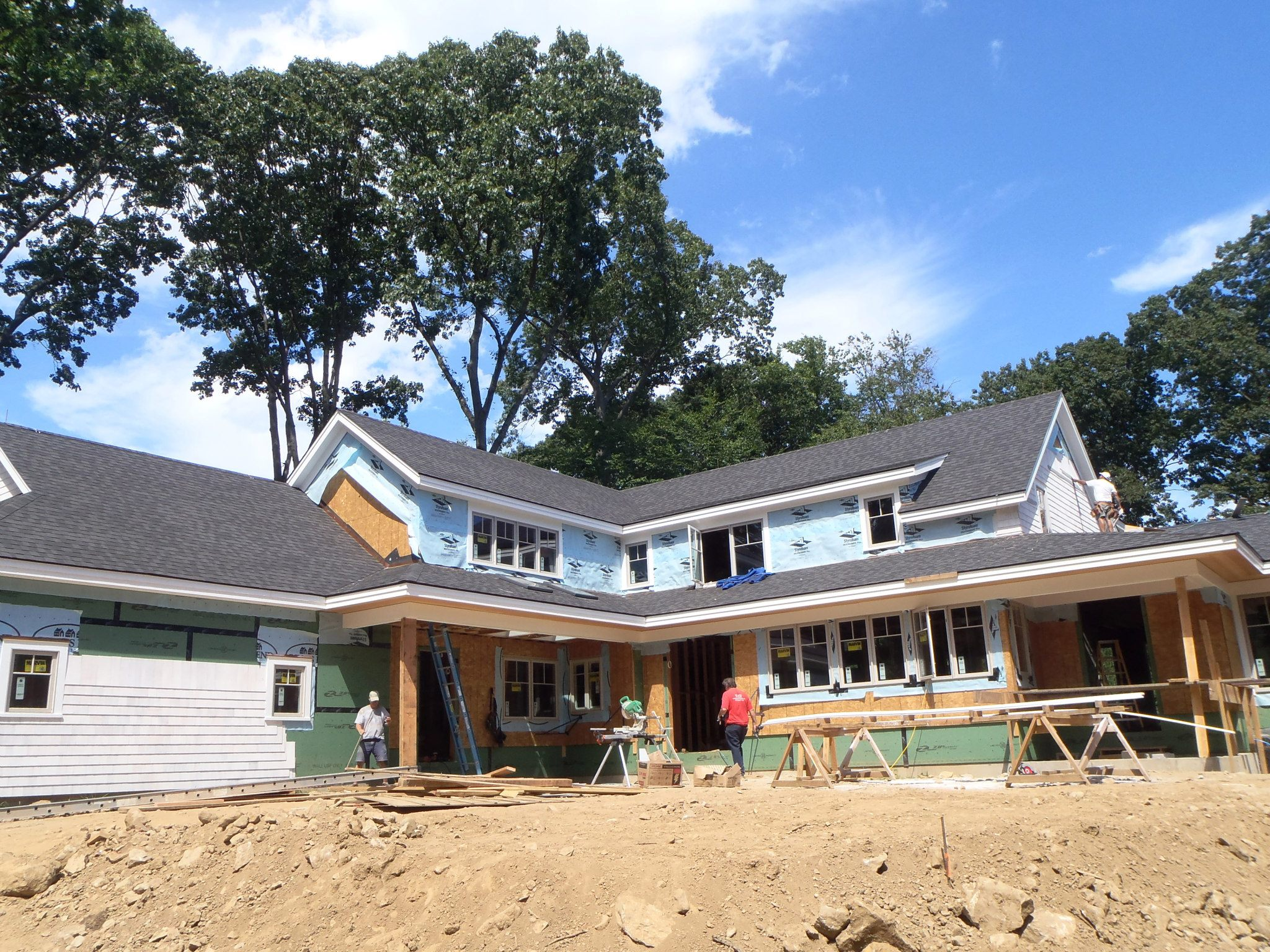 Norwalk CT final PV system perfect looking
