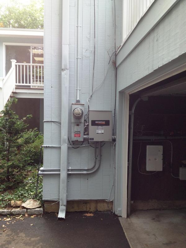20kw Air Cooled Custom Generator Install Cos Cob